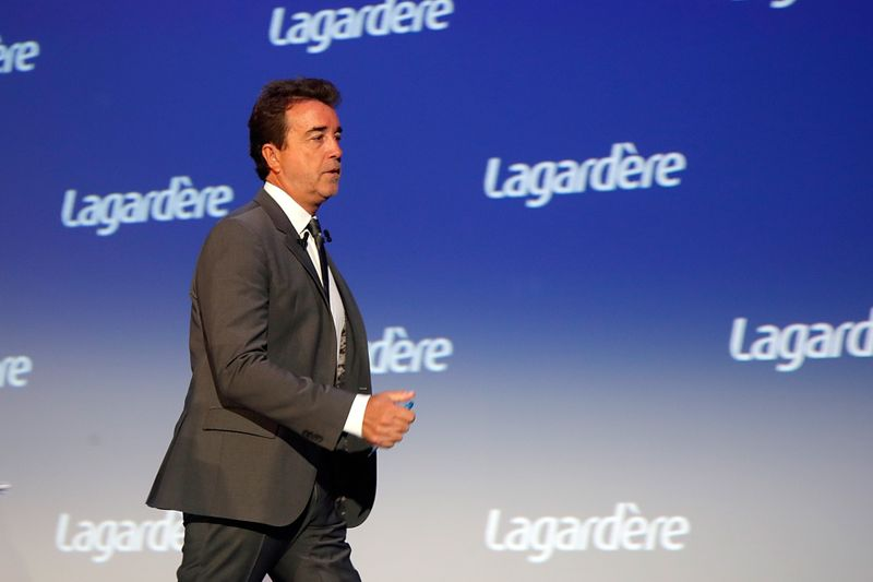 Lagardere CEO: There is no conflict with Arnault