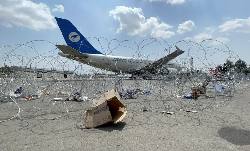 U.S. lawmaker urges Blinken to clear private evacuation flights out of Afghanistan