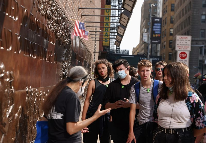 The emotional task of teaching students about 9/11