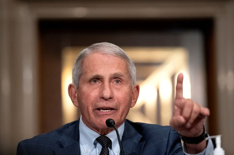 Pfizer on track for U.S. vaccine boosters, Moderna lagging, Fauci says