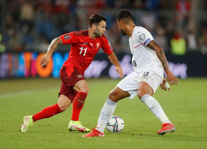 Jorginho falla un penal, pero Italia iguala récord invicto internacional con empate ante Suiza