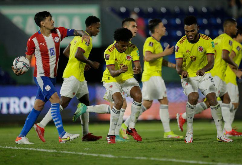 Colombia rescata otro punto de visitante ante Paraguay en eliminatoria