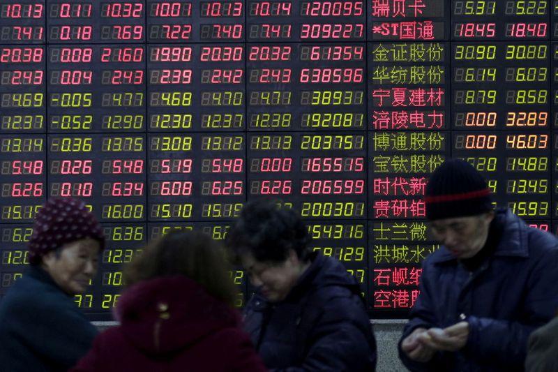 Китайские акции закрылись ростом на фоне планов создания новой биржи