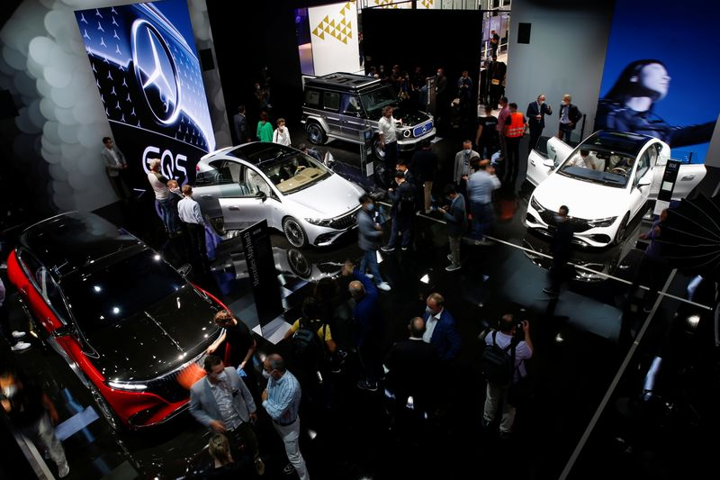 Tiny chips cast big shadow over Munich car show