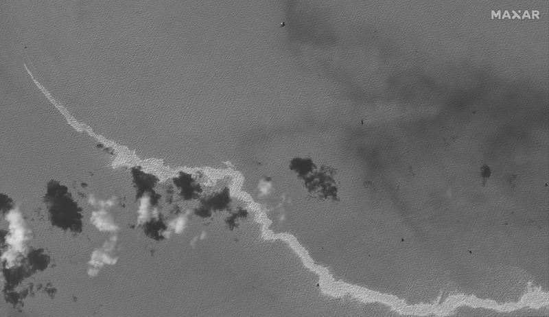 U.S. probing nearly 350 reports of oil spills in wake of Hurricane Ida