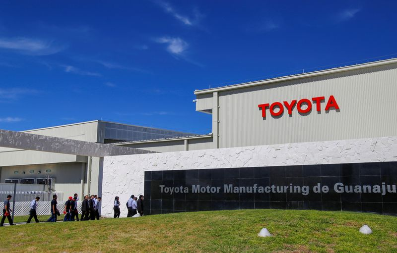 Toyota to spend over $13.5 billion on EV batteries by 2030
