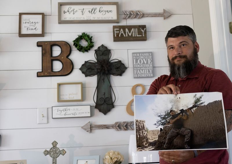 Sergeant Bee, immortalized in Afghanistan photo, reflects on war's legacy