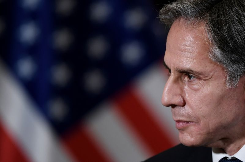 Blinken to testify in U.S. Senate on Afghanistan on Sept. 14