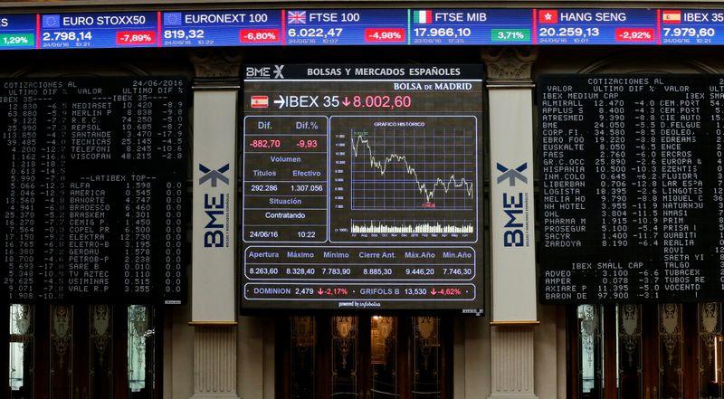 La aversión al riesgo y la incertidumbre sobre el BCE penalizan al Ibex-35