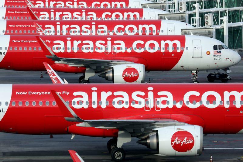 Malaysia's AirAsia reports smaller Q2 loss, lockdown slowed sales