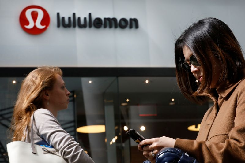 Lululemon gives upbeat full-year forecast on strong workout apparel demand