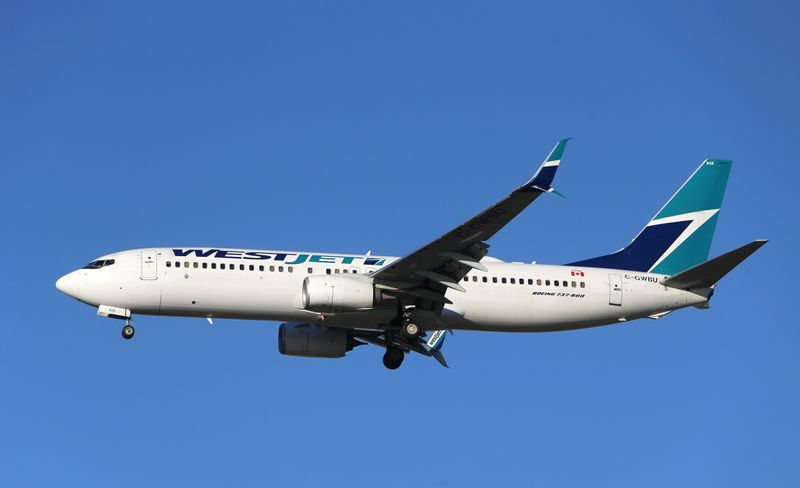 WestJet Airlines says unvaccinated employees to face unpaid leave or termination