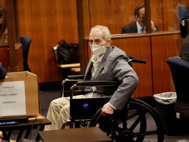 L.A. prosecutors liken Robert Durst testimony to cockroach soup