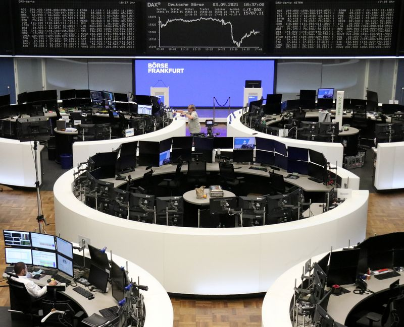 European stocks pare losses after ECB slows stimulus, as expected