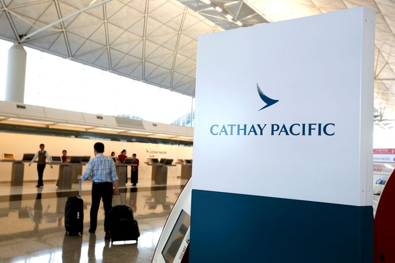 Cathay Pacific to close London pilot base, review U.S. bases