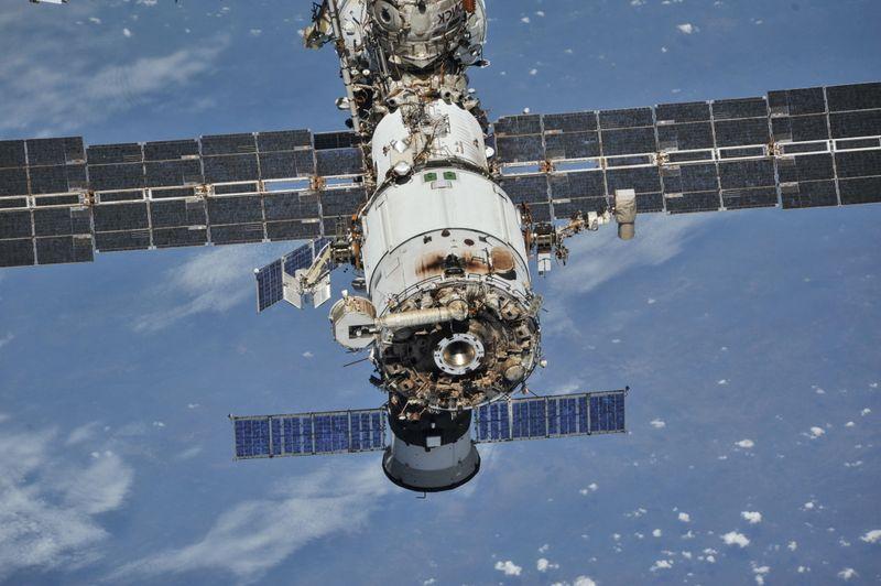 De la fumée détectée dans un module russe de l'ISS-Roscosmos