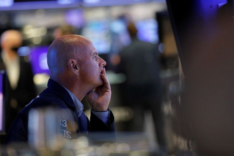 S&P 500 ends down after jobless claims hit 18-month low