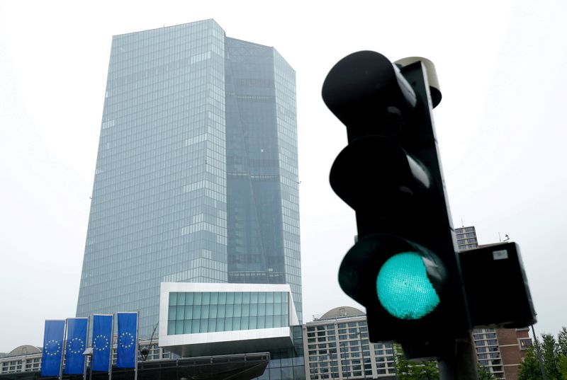 ECB takes token step towards dialling down pandemic-era stimulus