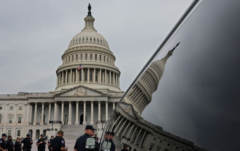 Security fence returning to U.S. Capitol for Sept 18 pro-Trump rally