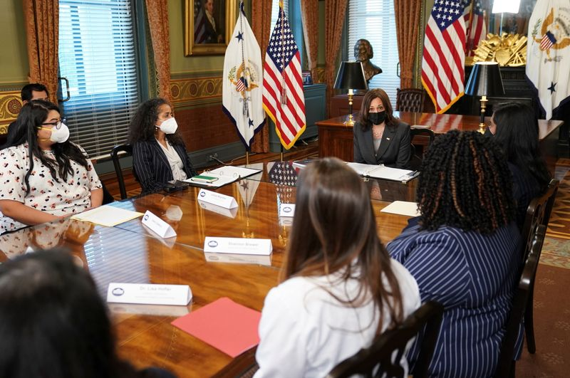 U.S. VP Harris says state legislatures cannot circumvent abortion rights precedent