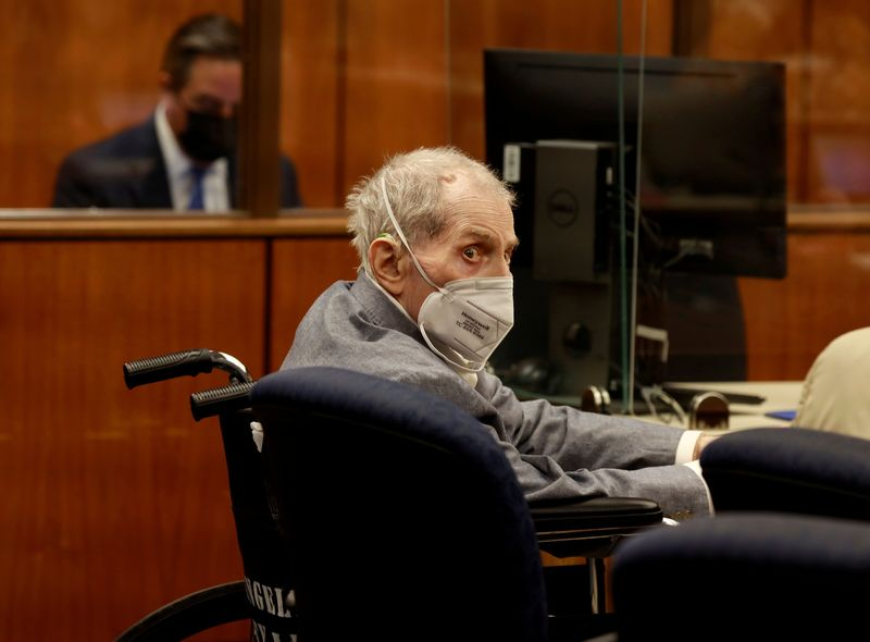 Durst's lawyer portrays him as sick old man in his L.A. murder trial By Reuters