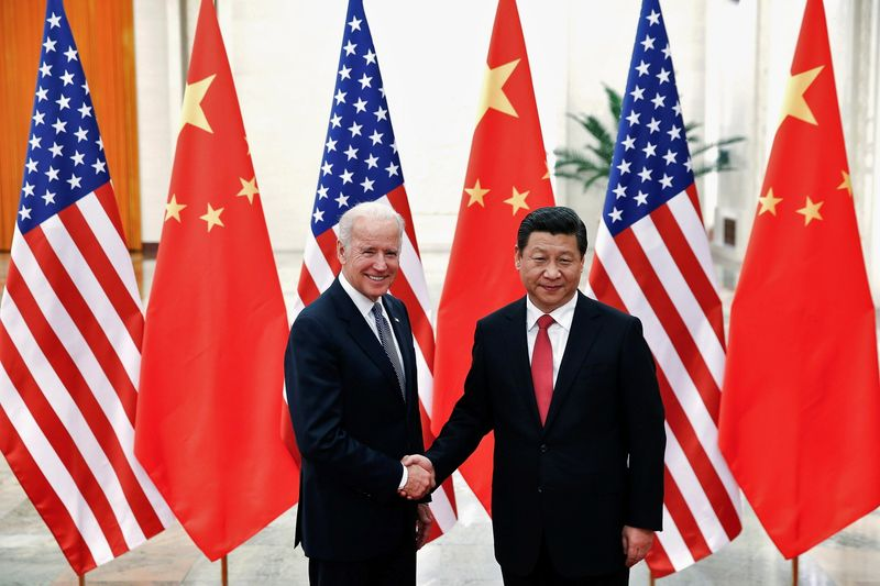 Facing stalemate in ties, Biden and China's Xi discuss avoiding conflict in call