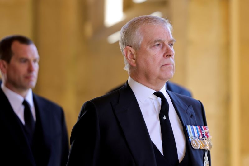 Prince Andrew has been served with sex abuse accuser Giuffre's lawsuit -court filing