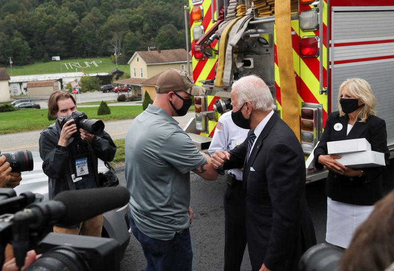 Biden visits all three attack sites on 20th anniversary of 9/11