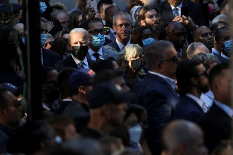 Biden visita locais dos três ataques no aniversário de 20 anos do 11 de setembro