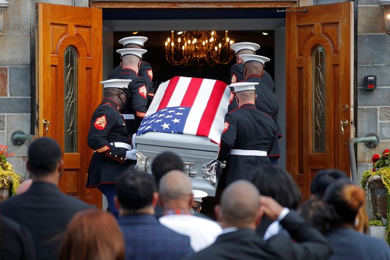 Two decades after 9/11, one of the last U.S. Marines killed in Afghanistan comes home