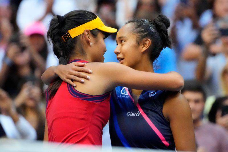 Tennis-Raducanu, Fernandez mark depth of women's game, signal enticing future