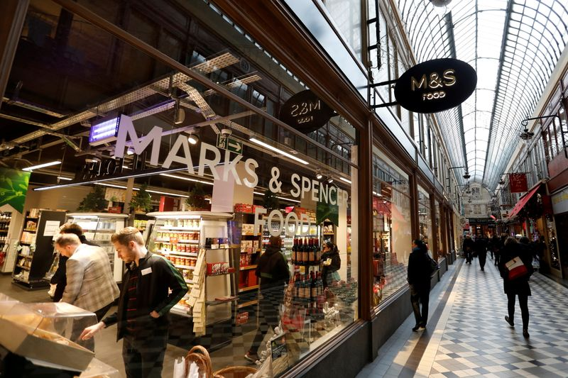 Britain's M&S reviewing future of French stores By Reuters