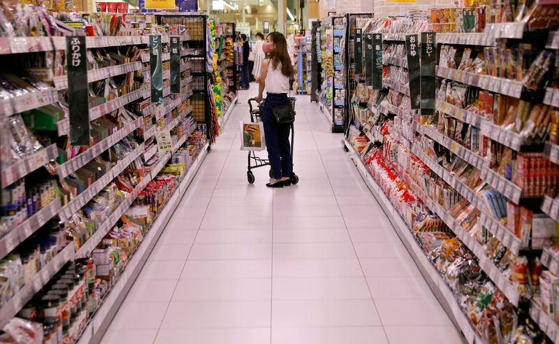 Japan's wholesale inflation hovers near 13-yr high as material costs rise