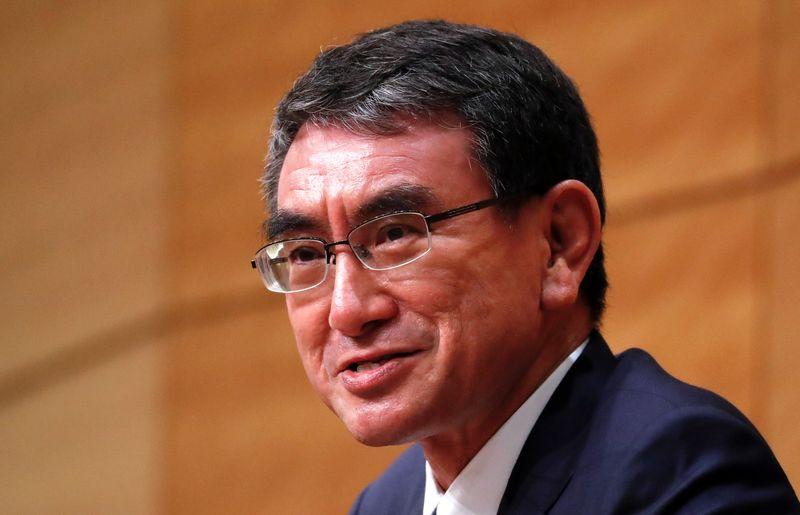 Japan's investors raise bets on Kono in leadership race