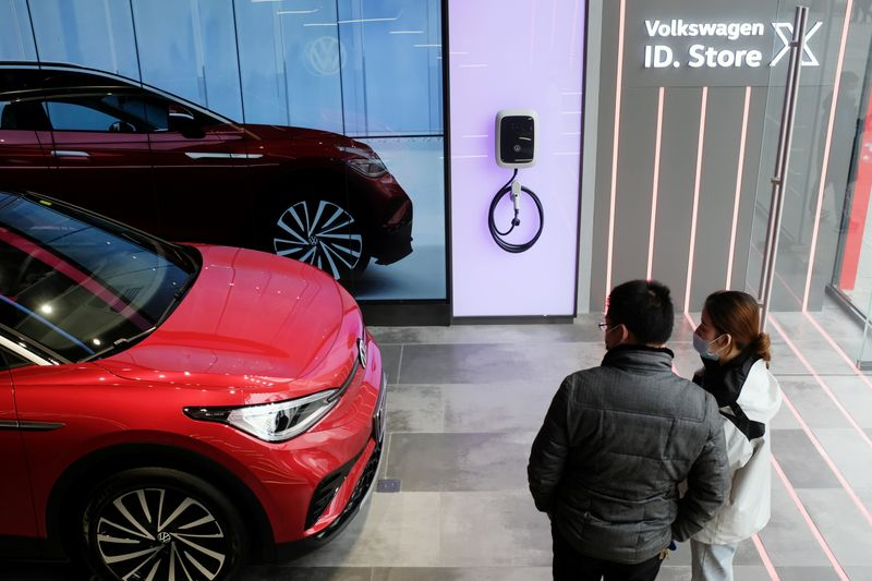 Exclusive-Volkswagen's China partners bristle as carmaker lavishes love on new venture