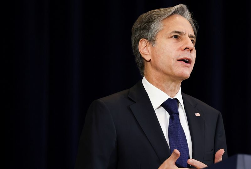Blinken defends Afghan withdrawal at testy U.S. congressional hearing