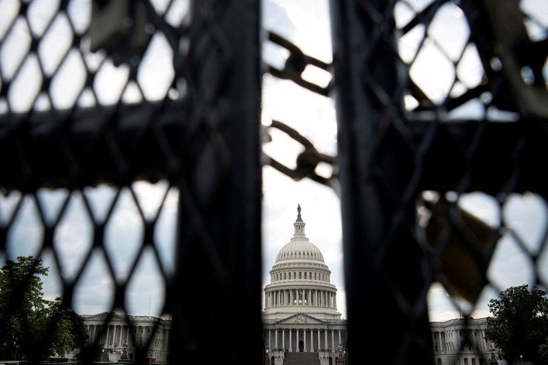 U.S. Capitol Police approves plan for temporary fence around U.S. Capitol