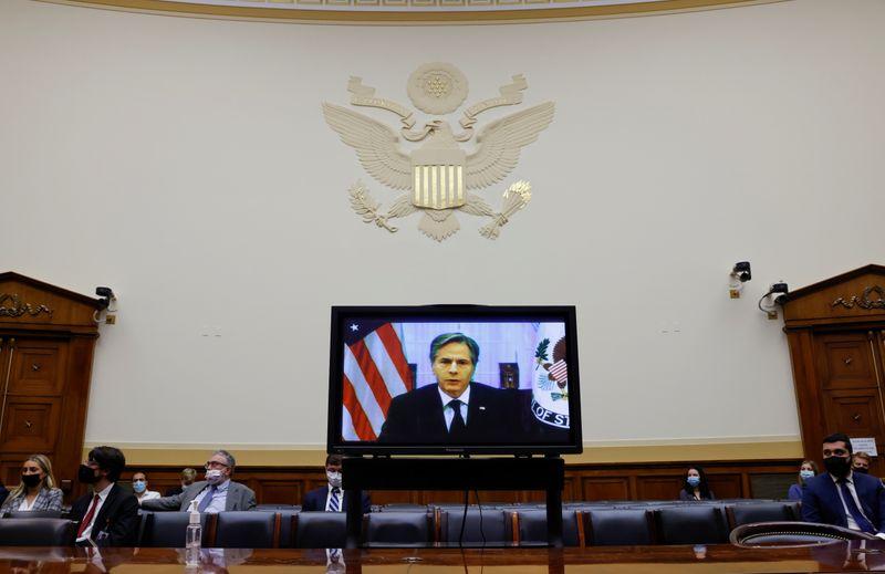 Secretário de Estado dos EUA defende saída do Afeganistão em audiência no Congresso