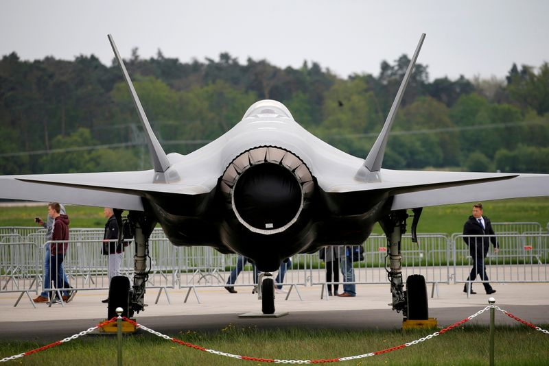 Pentagon awards Lockheed Martin $6.6 billion sustainment contract for F-35 fighter jets