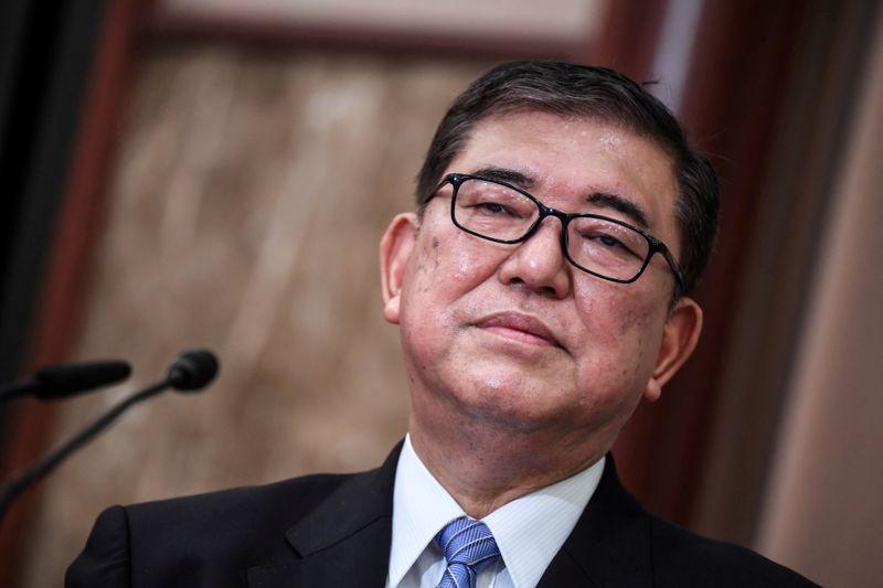 Japan LDP's Ishiba may back Kono in party leadership race - report