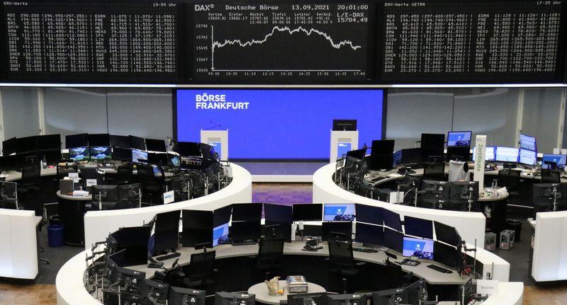 Европейские акции в минусе в преддверии данных об инфляции