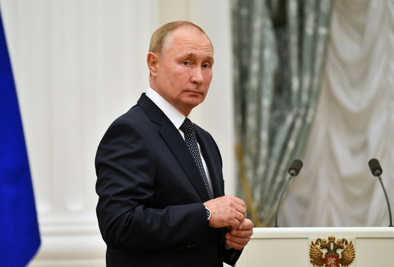 Russia's Vladimir Putin self-isolates after COVID-19 infects inner circle