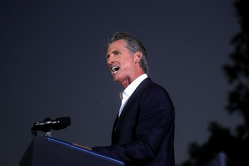 Californians await results in recall election of Governor Newsom