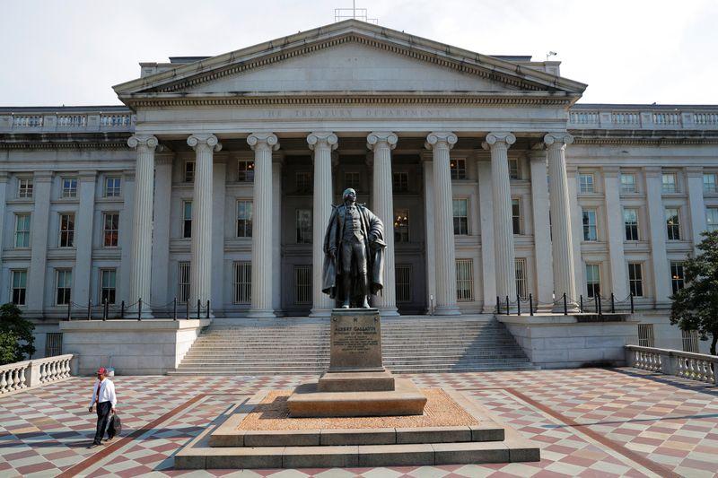 Rendimientos de bonos del Tesoro EEUU caen tras reporte inflación agosto