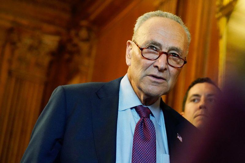 Top Senate Democrat Schumer asks U.S. businesses to weigh in on debt default