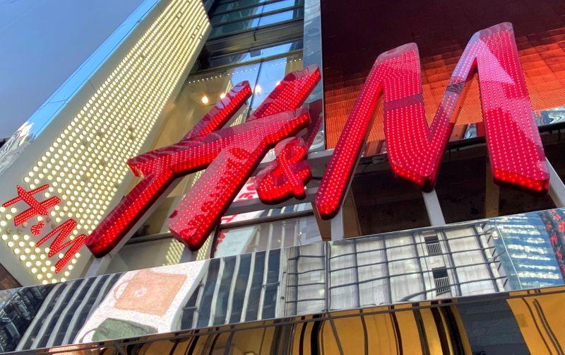 H&M's sales still lag pre-pandemic levels as restrictions bite