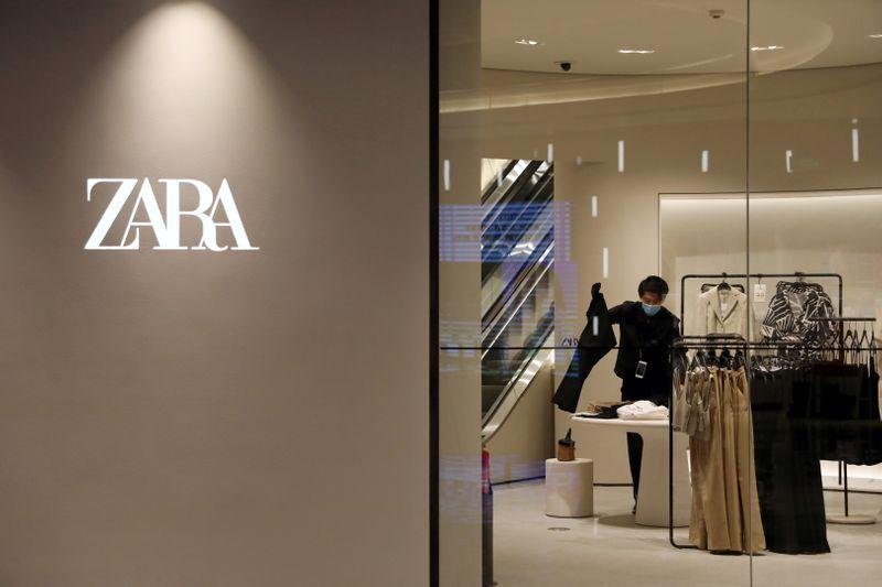 Zara owner Inditex outshines H&M as sales top pre-pandemic levels