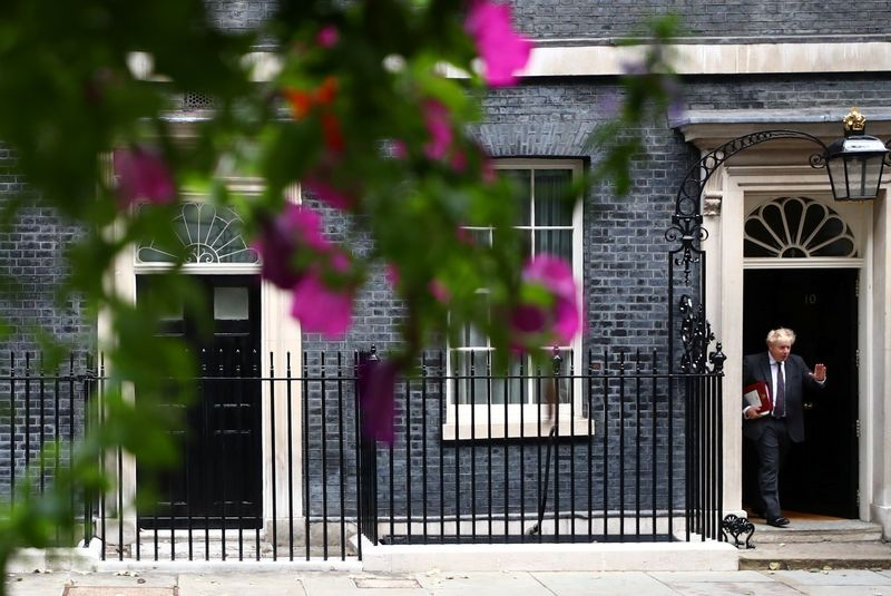 UK PM Johnson reshuffles his top team to focus on post-COVID rebuild