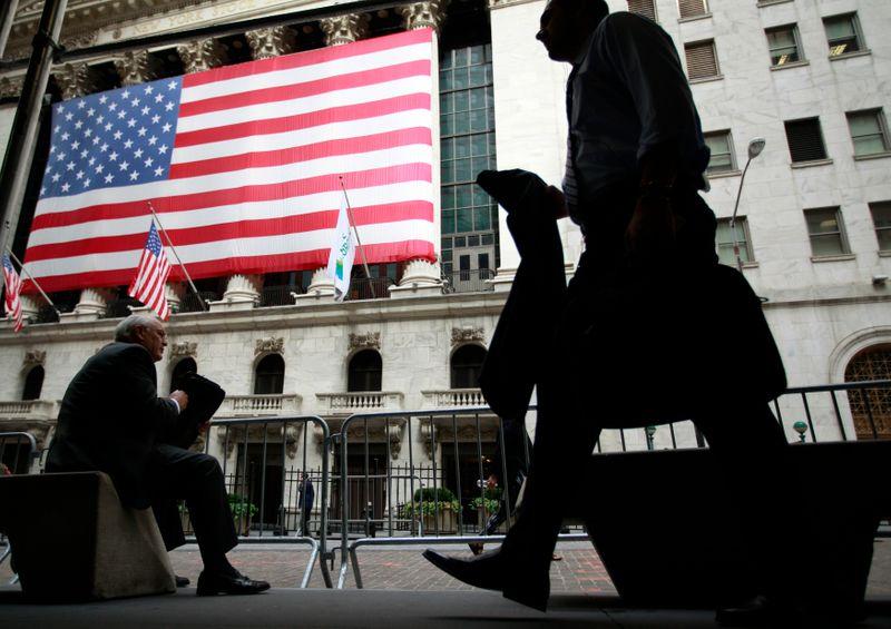 Индексы США растут вслед за энергетическим и финансовым секторами