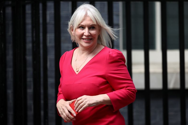 UK PM appoints Dorries as culture and sport minister